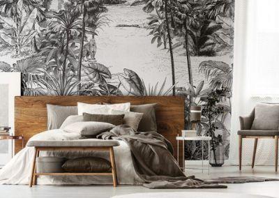 Papeles pintados tropicales by Karanné decoración