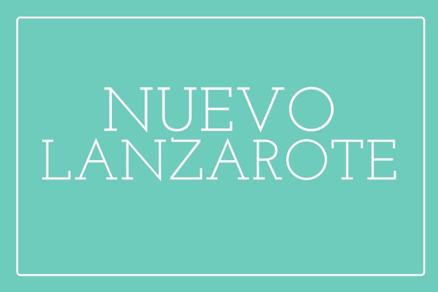 Sofá nuevo Lanzarote