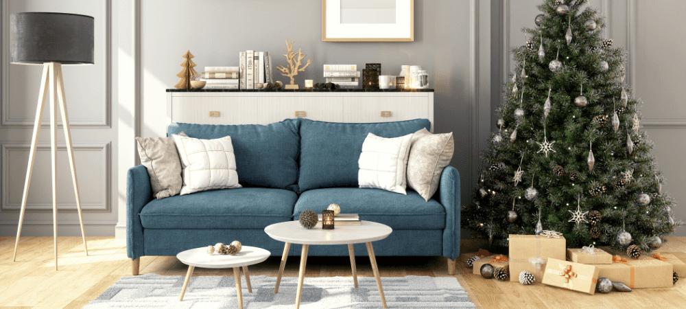 Decoración de Navidad minimalista
